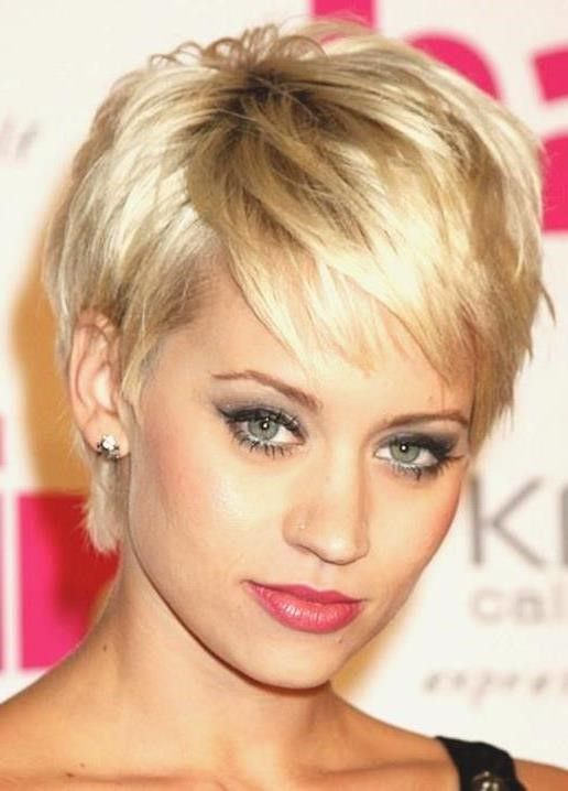 Short Sassy Hairstyles Beauteous Short Sassy Haircuts For Thin Hair In Careless Funkiness All