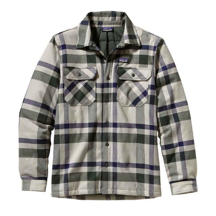 Patagonia Men 39 S Insulated Fjord Flannel Jacket Comstock