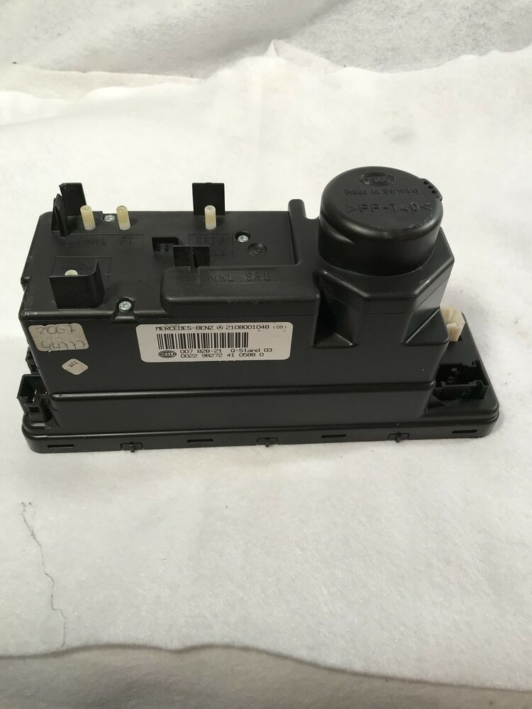 99 03 Mercedes 2108001048 Central Vacuum Power Locking Pump Oem 98 15 Mercedes Central Vacuum Ebay Motors