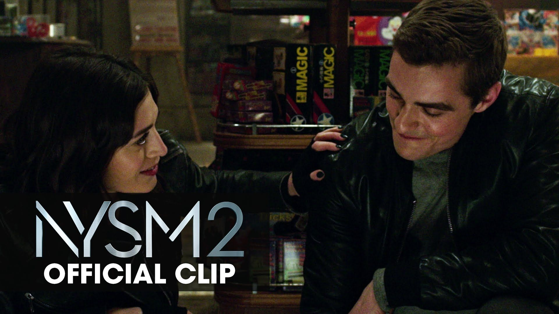 Watch Lizzy Caplan and Dave Franco in this NowYouSeeMe2