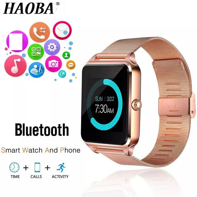 HAOBA Smart watch Bluetooth Sleep monitoring Smartwatch