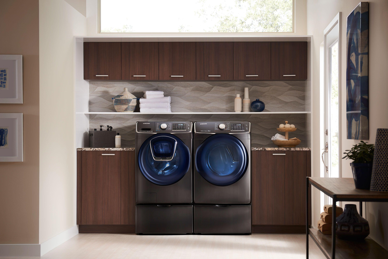 Best Top Loading Washing Machine >> Samsung WF50K7500AV 5 cu. ft. 27 Inch Front Load Washer ...