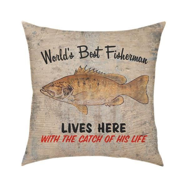 Best Fisherman Throw Pillow Creatively Designed This Best