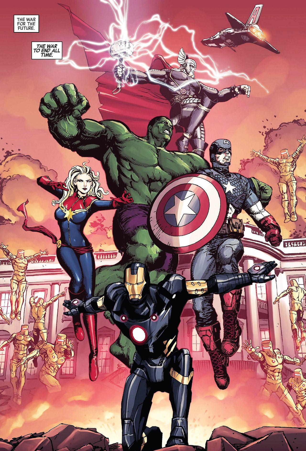 Avengers world 11 written by nick spencer art by