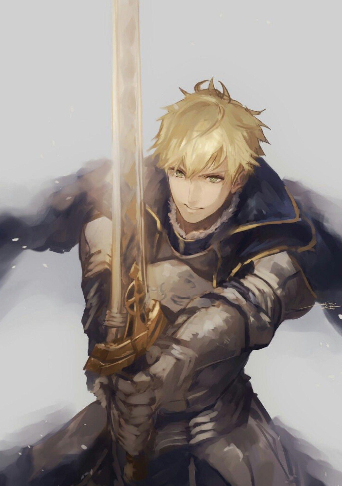 Fate/Grand Order Prototype King Arthur Fate Pinterest