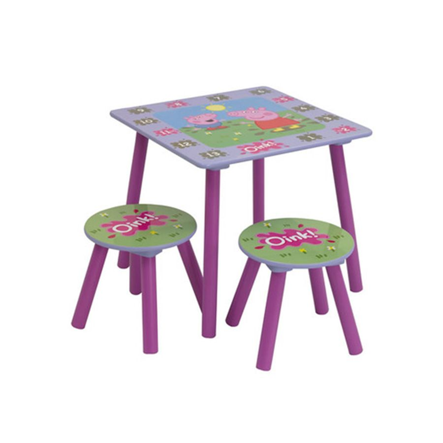 Peppa Pig Table And Chairs | Toys R Us Australia
