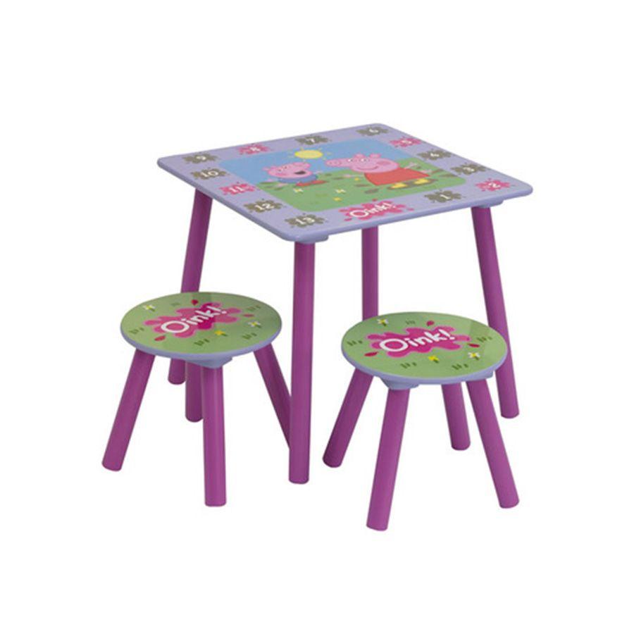 Peppa Pig Table and Chairs | Toys R Us Australia | Adalynns room ...