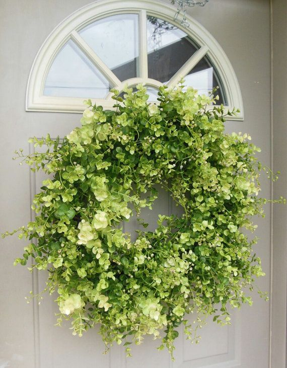 Boxwood Wreath Front Door Wreaths Spring