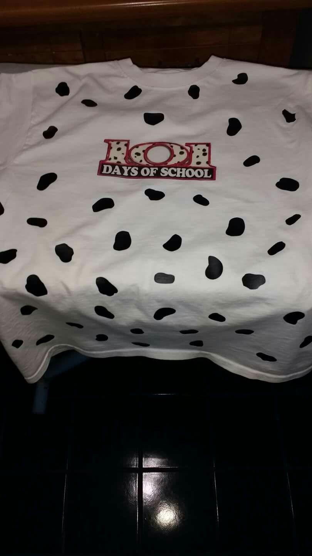 101 Days Of School Shirt Cricut Project Vinyl Dots And