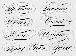 Image result for copperplate flourished capitals
