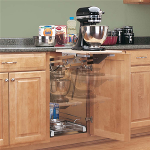 Kitchen Aid Mixer Storage – No Problem with the Mixer Lift ...