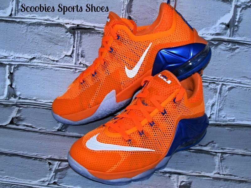 Nike Reax Grey & Orange Men's Shoes Size 10.5