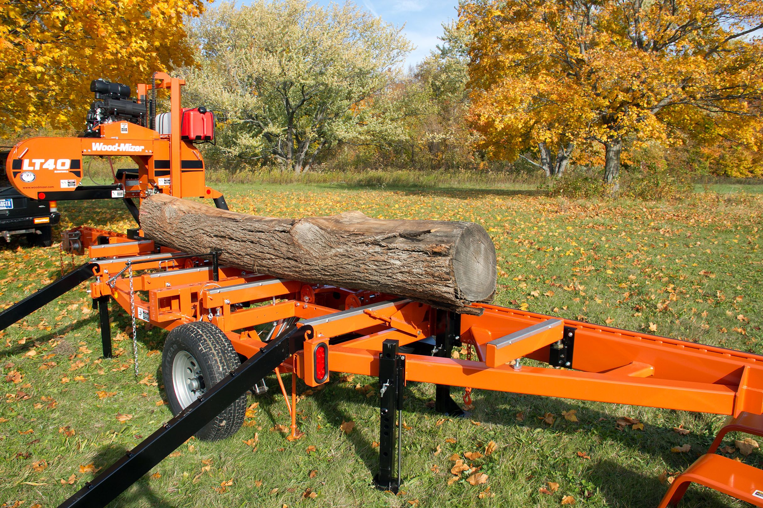 lt40 manual saw for projects or profits wood mizer portable