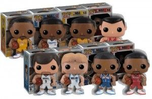 Funko NBA POP Series 2 Complete Set of 8 Action Figures