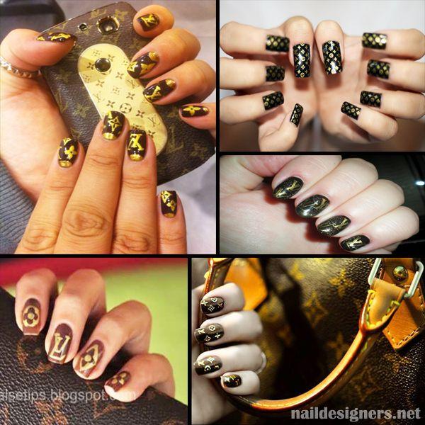Louis Vuitton Nails #nailart | Nail Culture + Nail Art | Pinterest ...