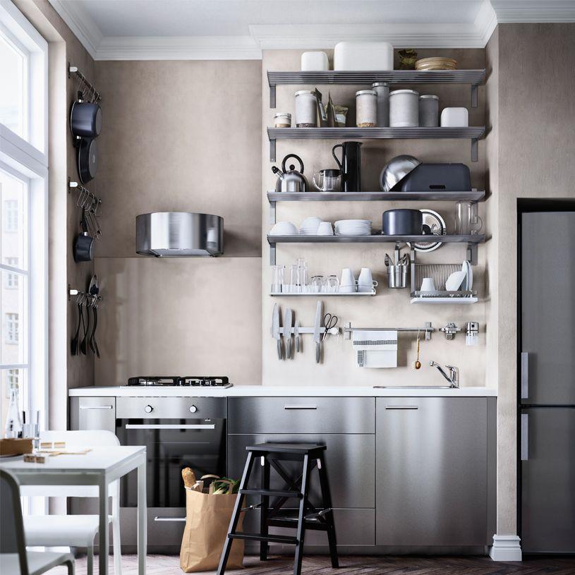 IKEA GREVSTA kjøkken - kjelleren | Kjeller | Pinterest