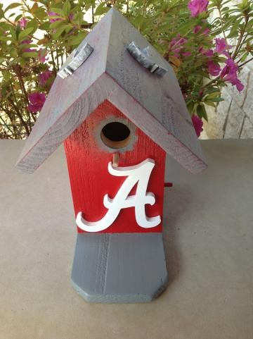 Birdhouse Alabama University By Abcbirdhouses For 45 00