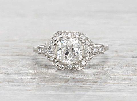 1.50 Carat Edwardian Engagement Ring