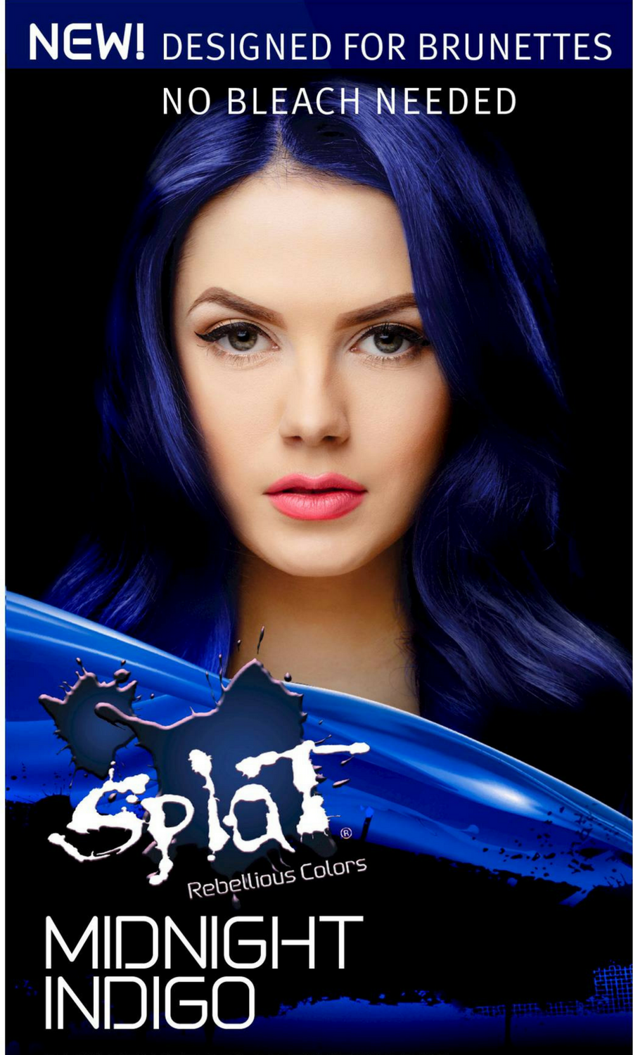This Color Is Awesome I Have Dark Hair And I Ve Never Been Able To Have Really Intense Bright Colors Witho Splat Midnight Hair Color Midnight Hair Hair Color
