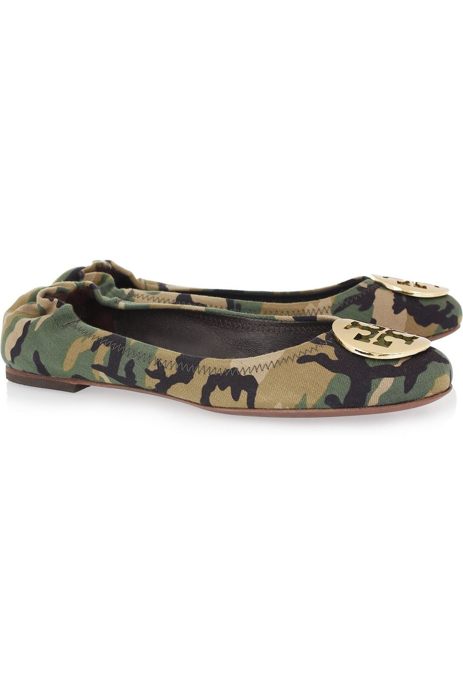 outlet enjoy Tory Burch Reva Camouflage Flats Inexpensive sale online nE0mdN