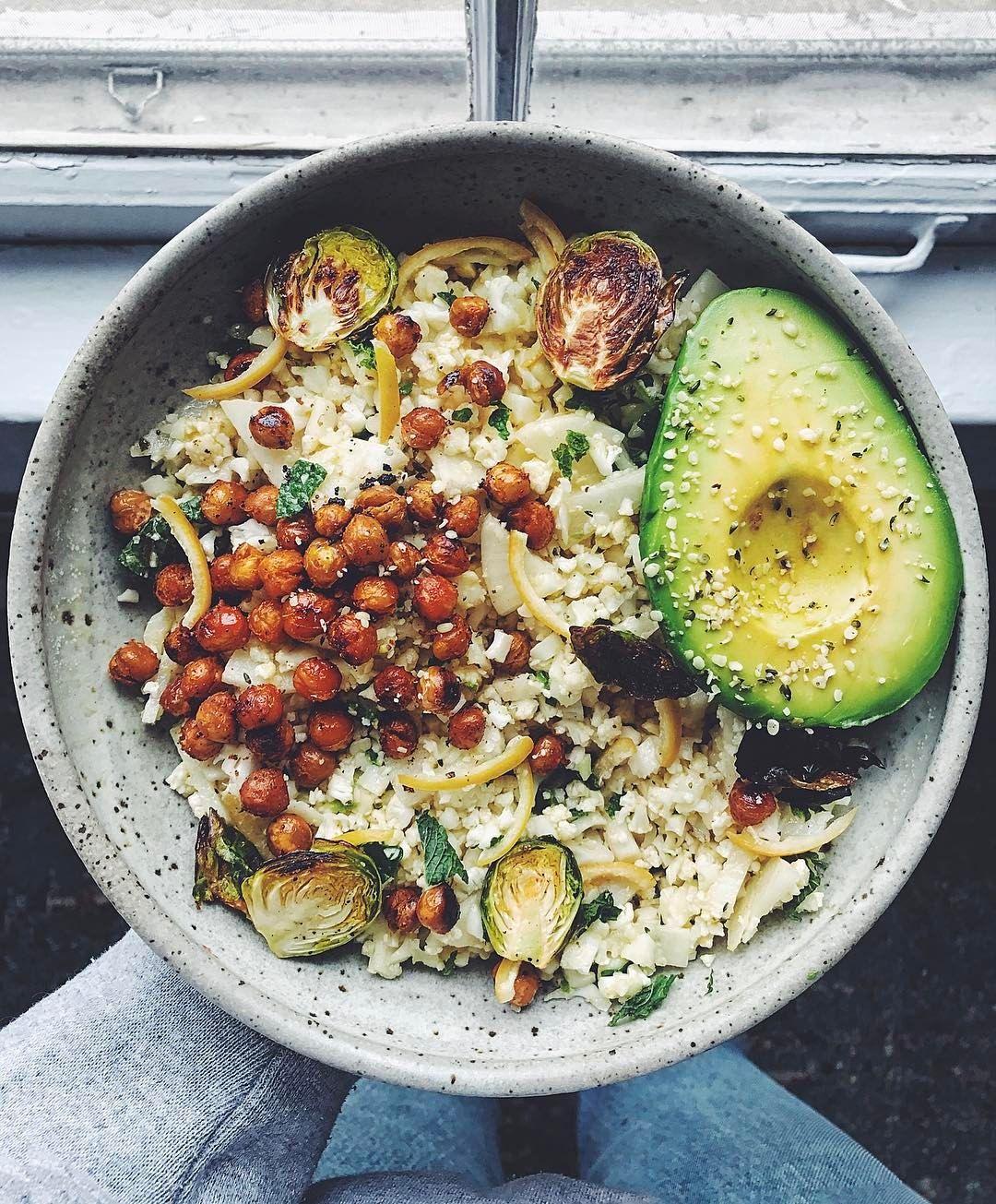 Lee Tilghman (@leefromamerica): organic cauliflower rice with