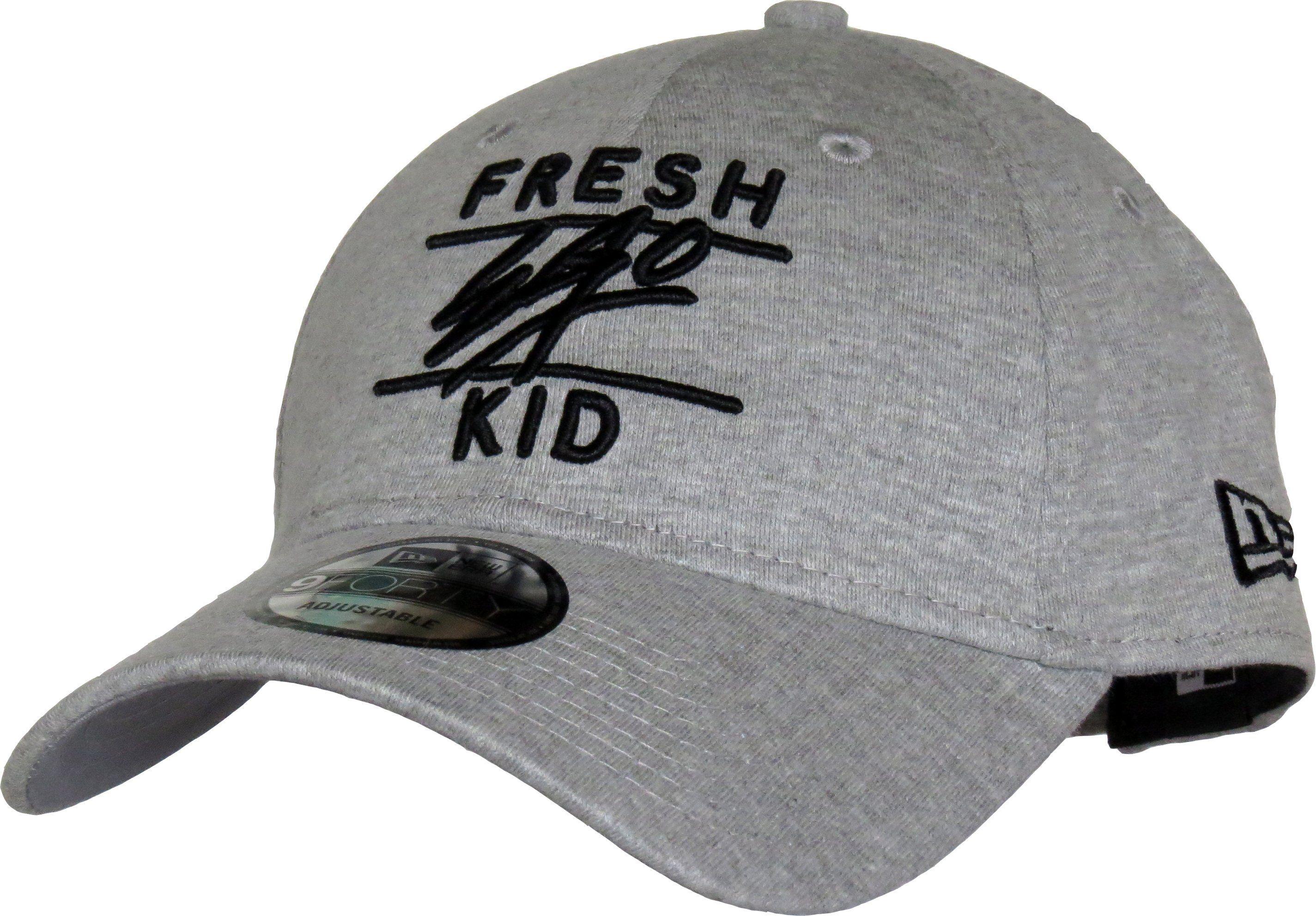 4c294fd21b7 Fresh Ego Kid New Era 940 Grey Black Jersey Baseball Cap – lovemycap