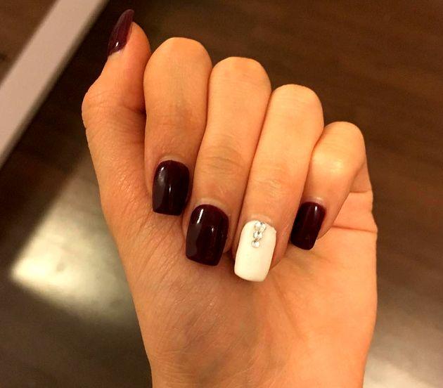 Plum Nail Color Trends | nail art | Pinterest