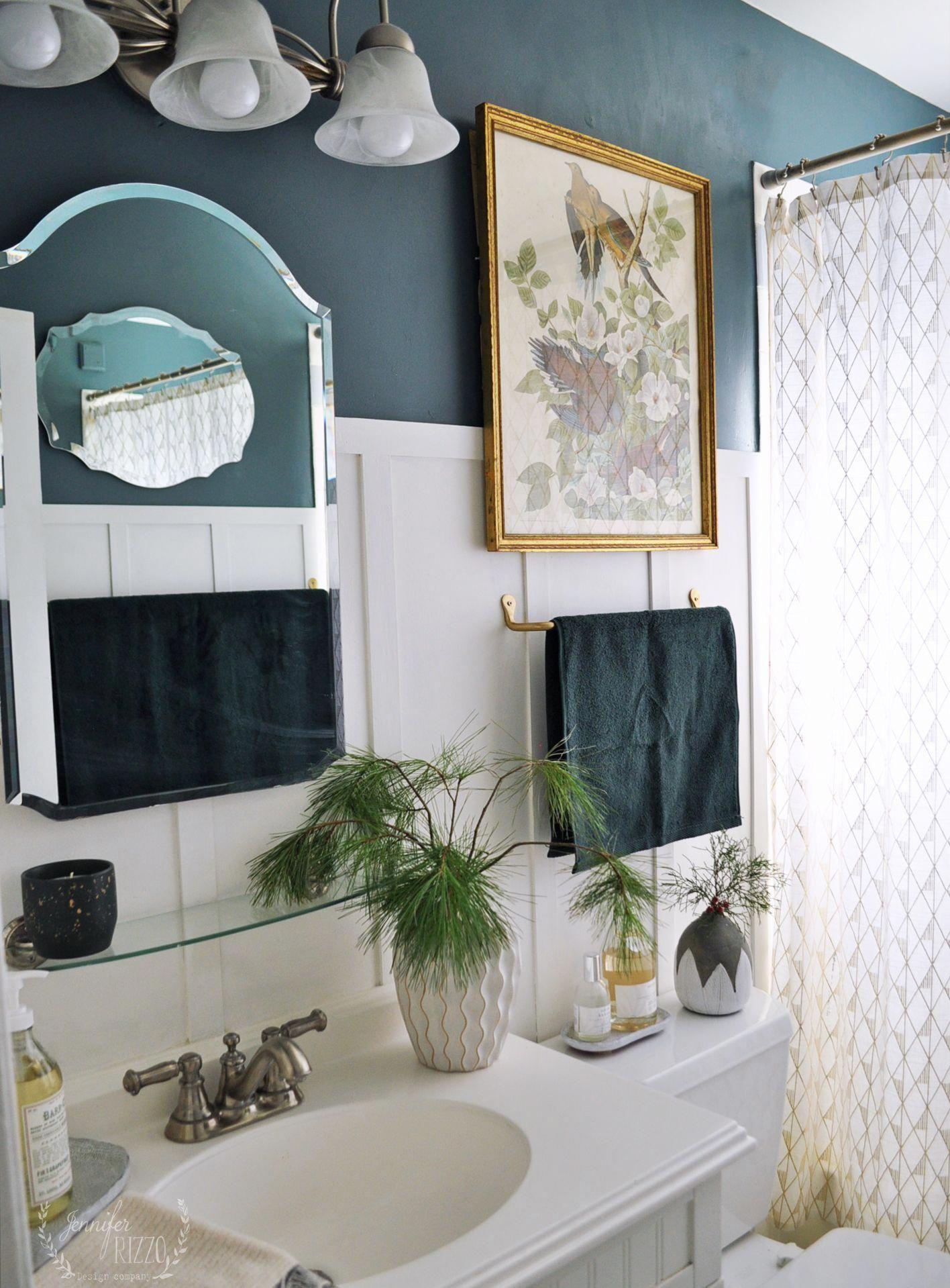 Grey Blue Bathroom Bluebathroom Blue Bathroom Bathroom Paint Colors Painting Bathroom