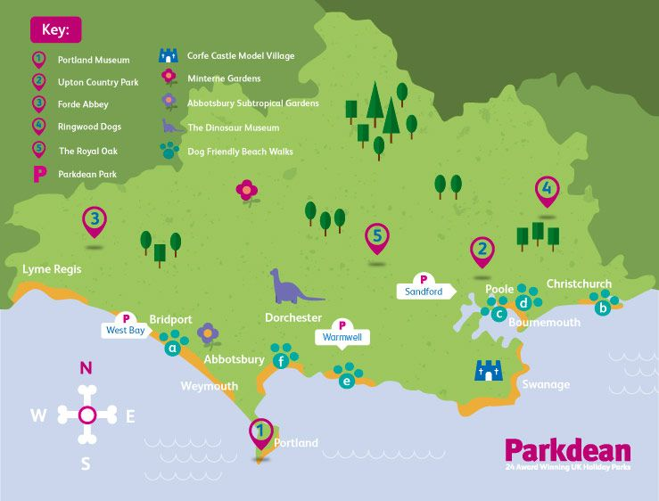 Dog Friendly Attractions And Beaches In Dorset Parkdean Dog Friendly Beach Dorset Holiday Dog Friends