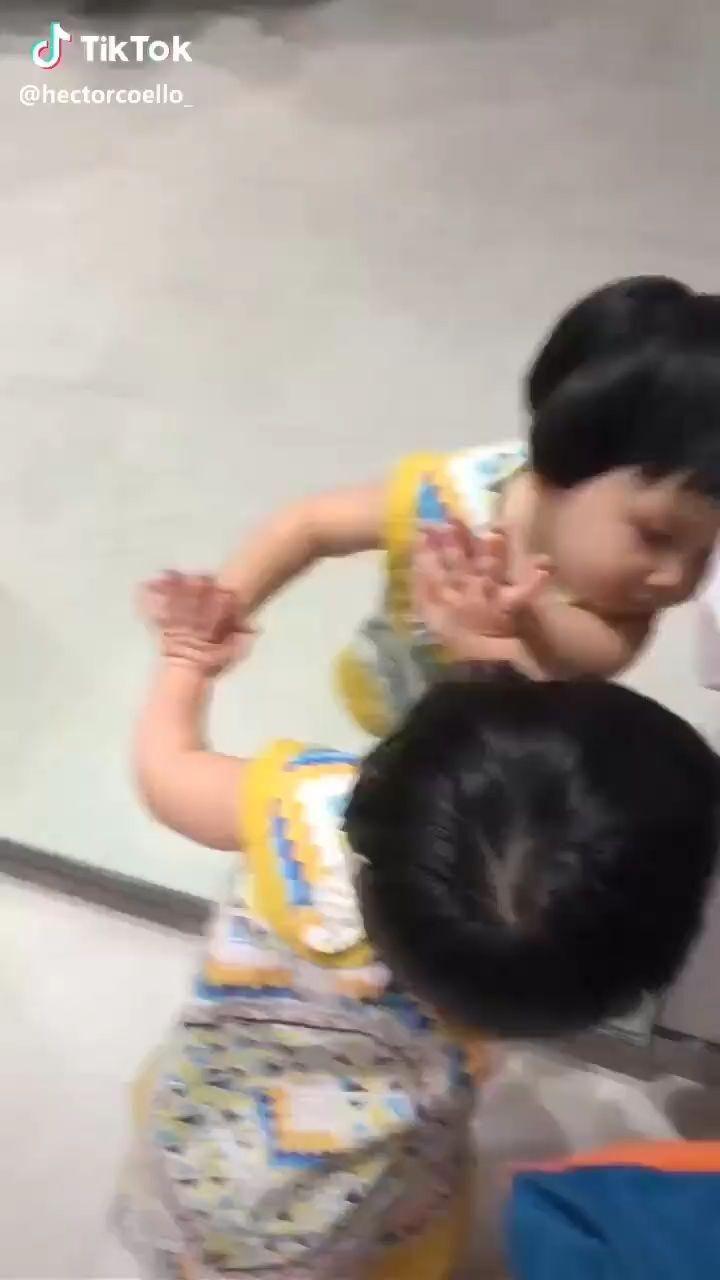 little toddler dancing