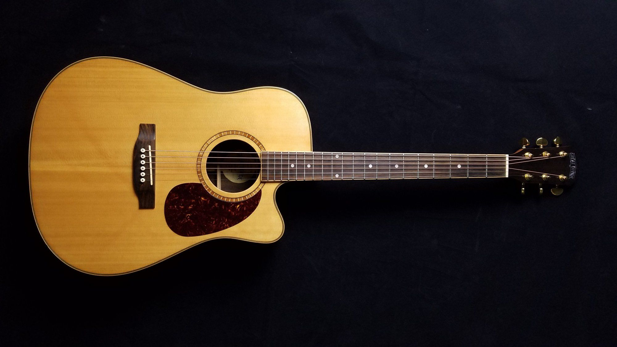 Used Great Divide Sgd28ceg Acoustic Electric Guitar With Bag 225 Acoustic Electric Guitar Guitar Acoustic Electric