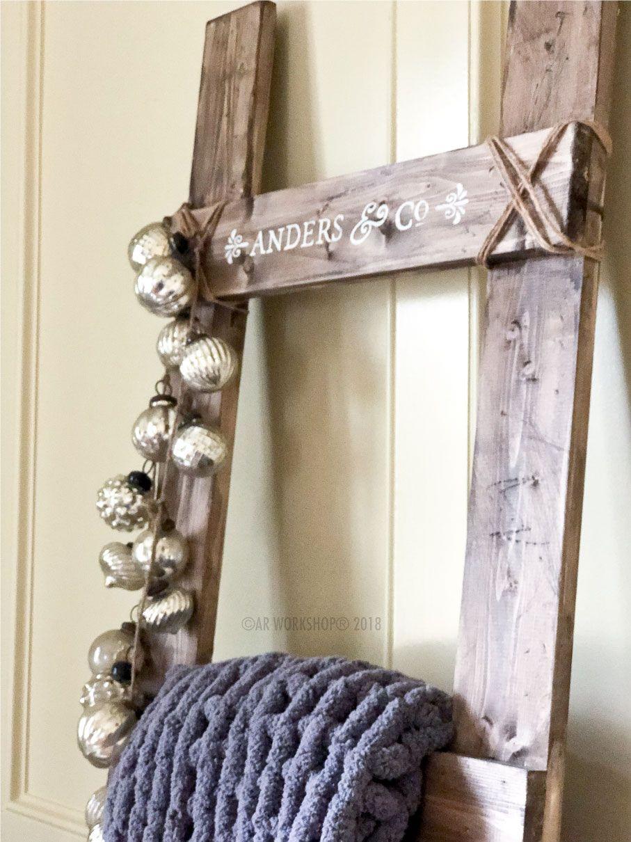Blanket ladders ar blanket ladder diy