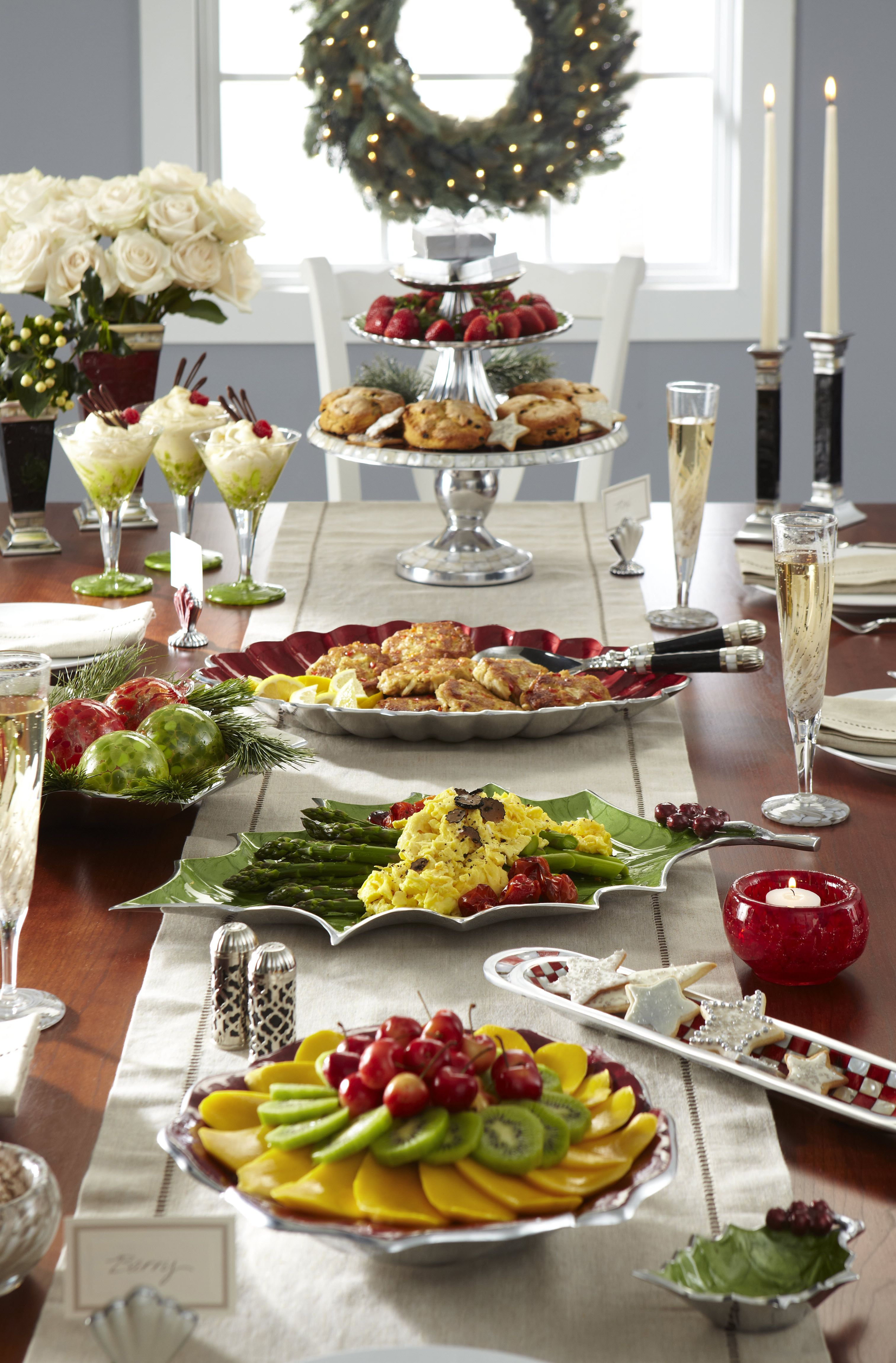 fabulous holiday brunch spread holiday christmas. Black Bedroom Furniture Sets. Home Design Ideas