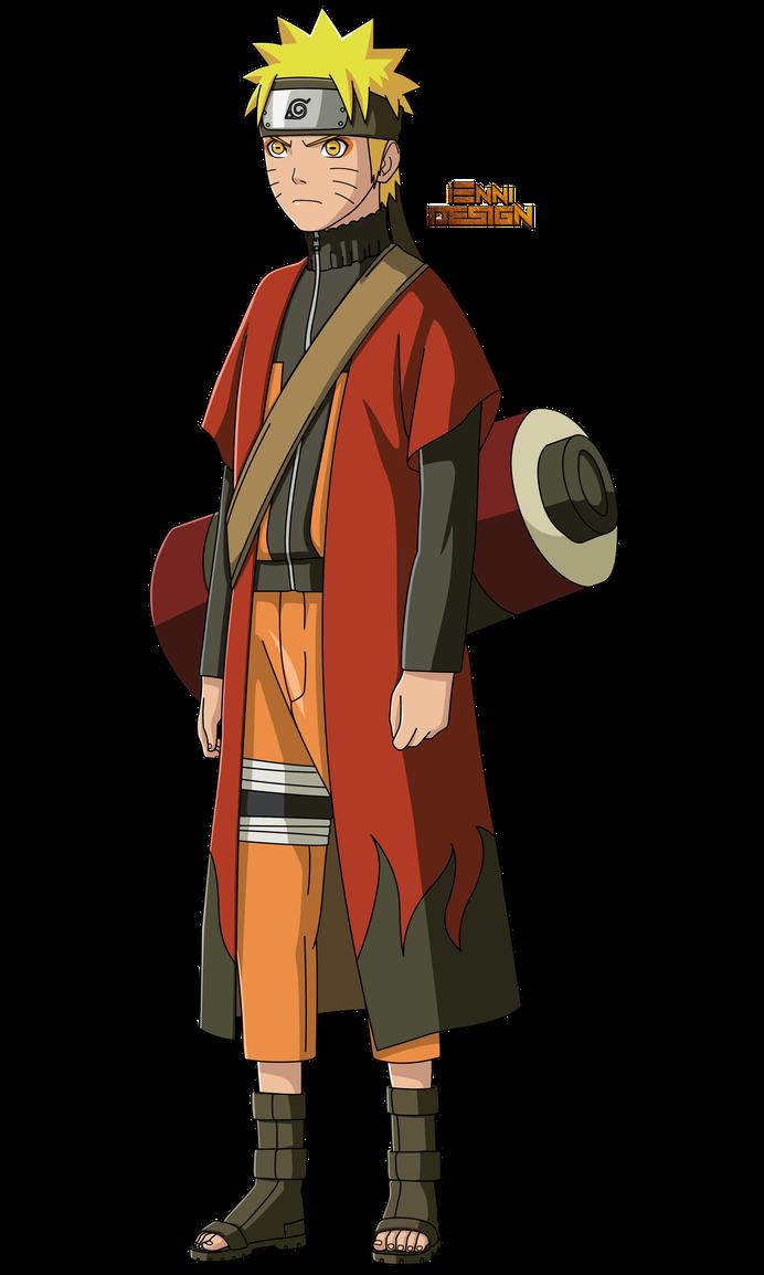 Naruto Shippuden Naruto Uzumaki Sage Mode By Iennidesign Naruto Uzumaki Hokage Naruto Uzumaki Naruto Sage