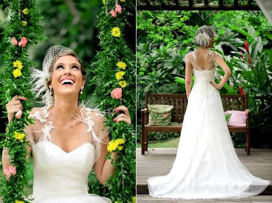 Vestidos de noiva de Carol Hungria