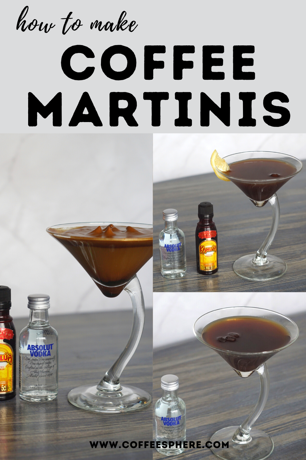 Vodka And Coffee How To Make Coffee Martinis 3 Easy Ways How To Make Coffee Martini Recipes Vodka Coffee Martini Recipe