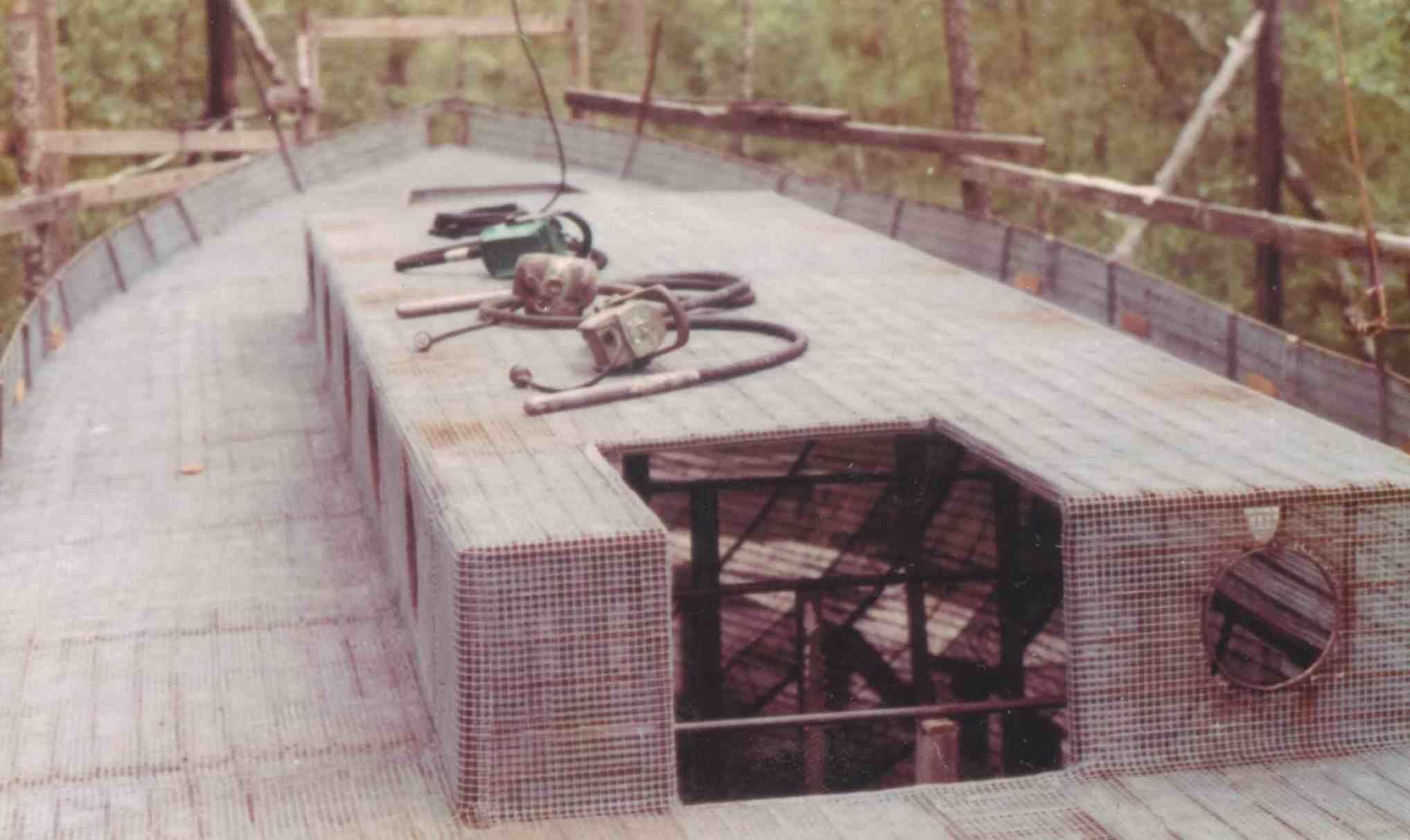Blue Water Surveys Ferro Cement Boat | Ferrocement and concrete ...
