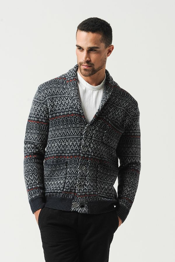 Absolutely love this cardigan! The print is really bold but ...