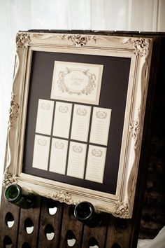 Captivating Wedding Seating Chart Frame   Google Search