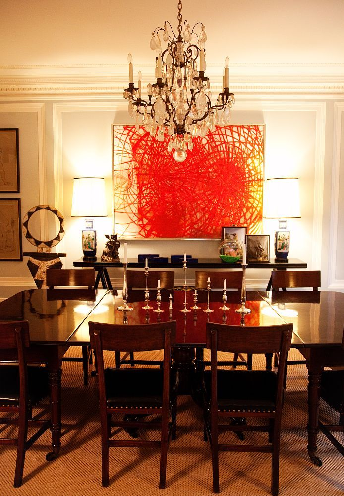 Dress Up The Dining Room With An Elegant Chandelier... Andy Spade U0026 Kate