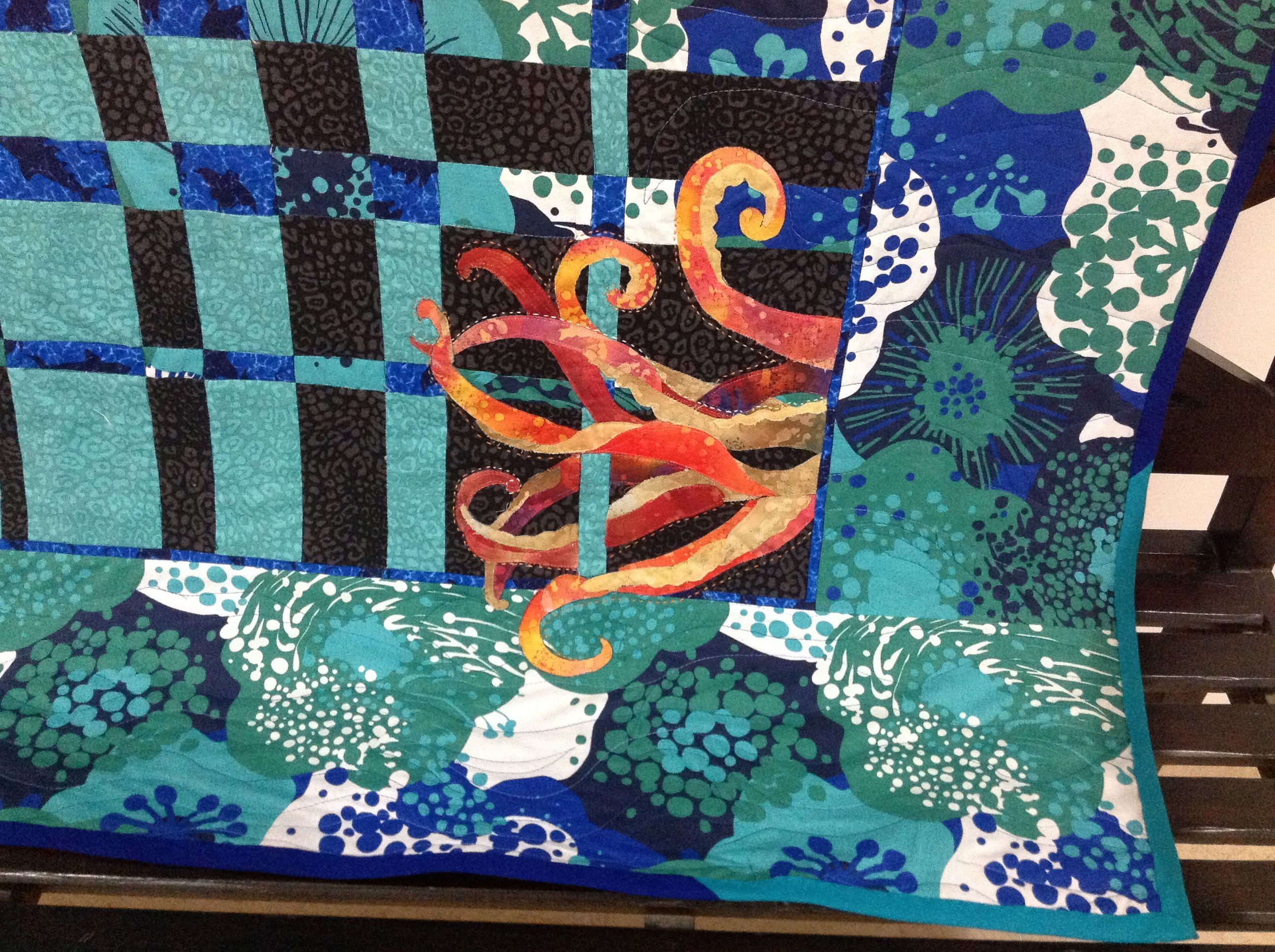 I'd like to be, under the sea…   Gardens, To be and Quilt : under the sea quilt - Adamdwight.com