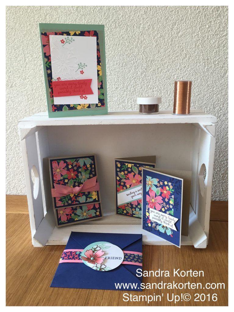 #Affectionatelyyours #su #notecards #notecardbox #sandrakorten #stampinup #koper #floral #