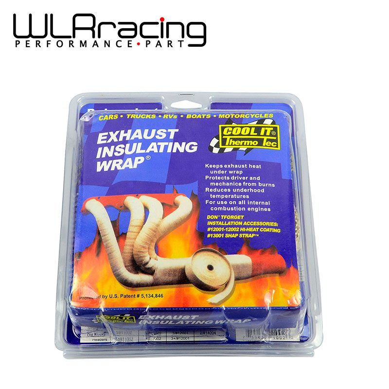 WLRING STORE- New COOL IT Thermo Tec Thermal Wrap,exhaust
