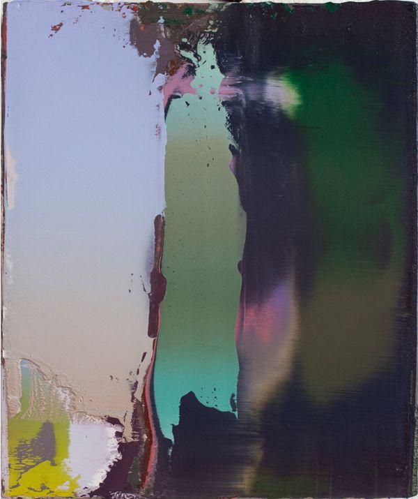 Peter Krauskopf   Altes Bild, B080114, 2014, Öl auf Leinen, 45 x 40 cm