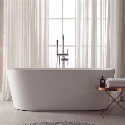 Avanity Bathtubs Whirlpool Tub Abt1524 Gl Aria Acrylic Oval Bathtub