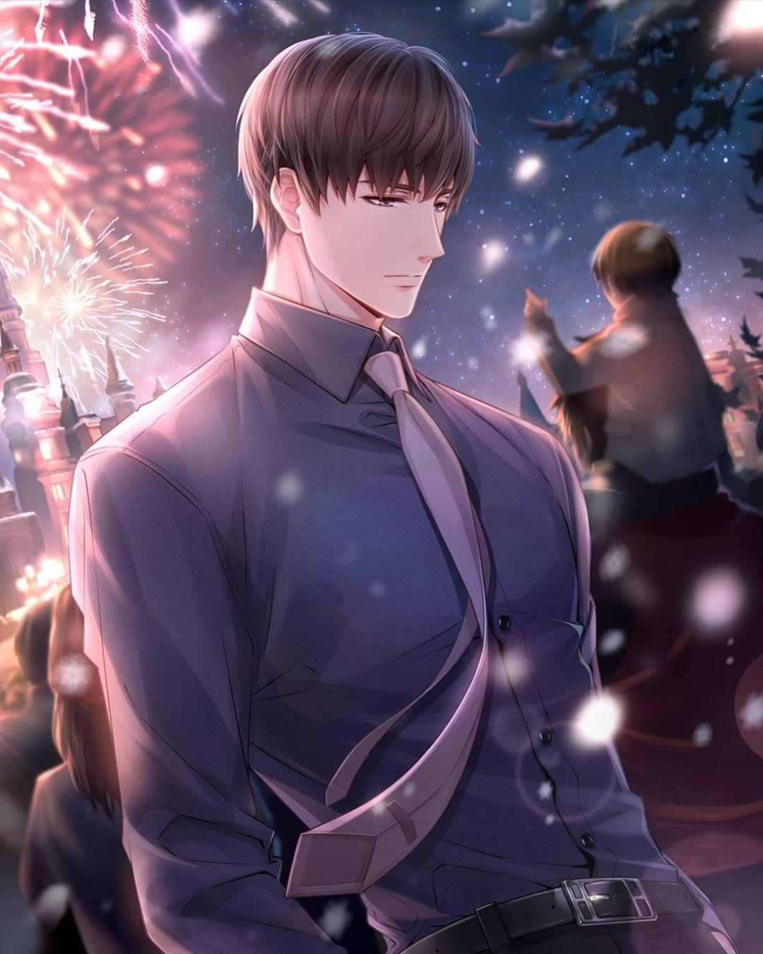 Pin Oleh Nisnasty Di Mr Love Dream Date Di 2020 Orang Animasi Gambar Anime Animasi