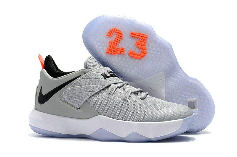 info for f39f7 a7359 Nike Lebron Ambassador 10 Mens Original Basketball Sneakers Medium Grey  Black White