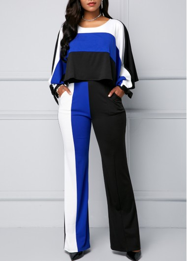 25cbf9a18313 Keyhole Back Cinched Waist Cold Shoulder Black Jumpsuit