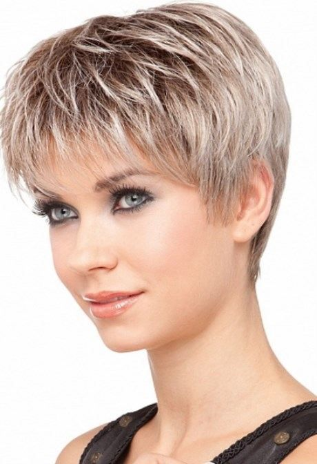 Coupe de cheveux cut for woman of 55 years