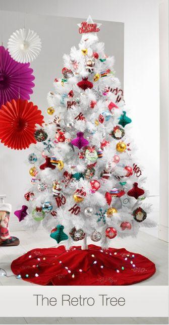 The Christmas Retro Tree At David Jones Store Christmas Decorations Xmas Decor Ho Retro Christmas Tree Christmas Tree Design Storing Christmas Decorations